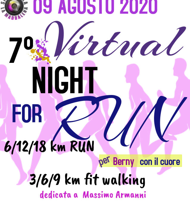 LA NIGHT FOR (VIRTUAL) RUN